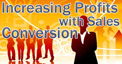 increase profits with sales conversion
